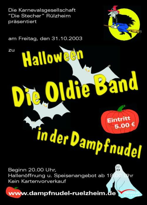 Oldie Band an Halloween